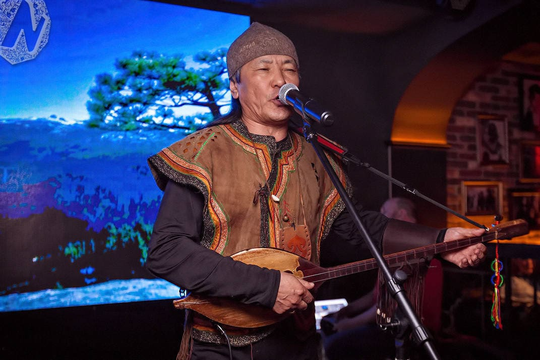 A concert of Altaian singers in Barnaul