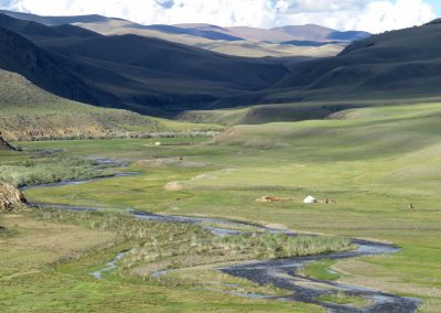 Landscape of Altai mountains