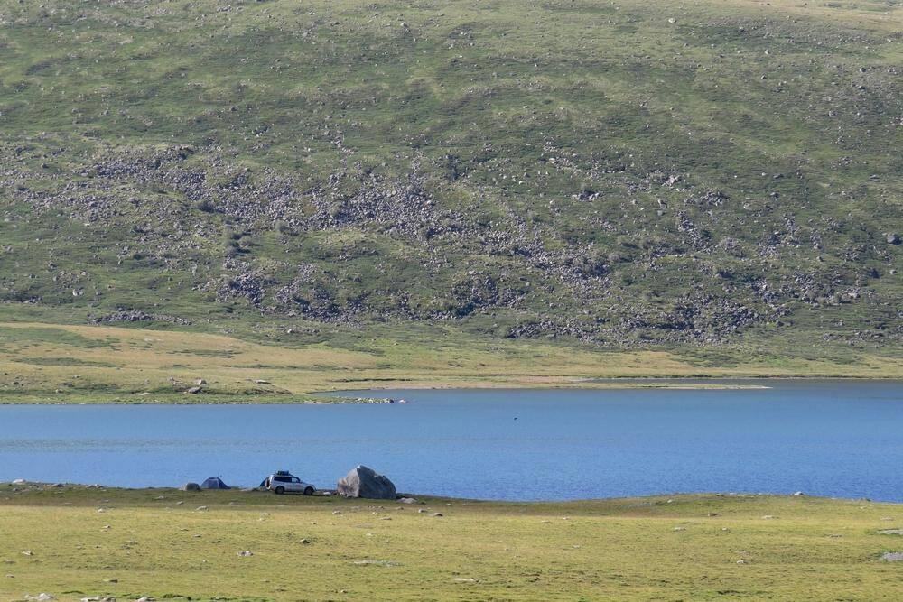 Camping near Kindyktykul lake