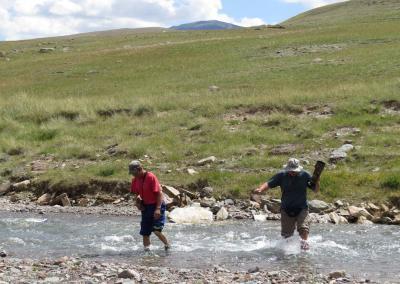 Oversteken van de rivier