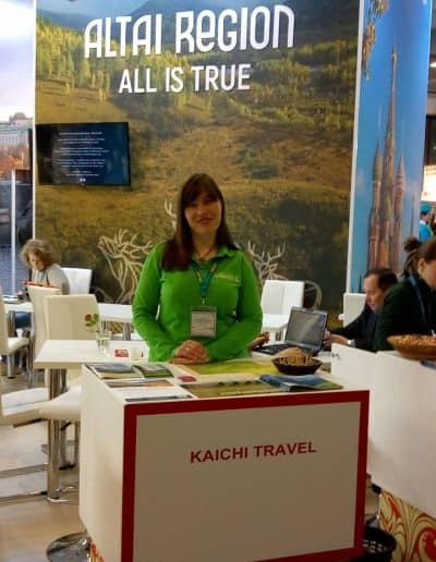 stand Kaichi travel ITB Berlin