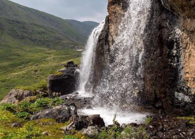 Kamtytugem waterfall