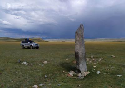 mengir in Chuya steppe